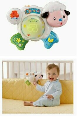 Vtech Baby Lullaby Light Up Lamb Baby Cot Toy Musical Night Light Sleep Aid  • 7£