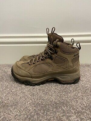 £18 • Buy North Face Gore-Tex Walking Boots | UK 3.5 / EU 36.5 | Syncline GTX | Khaki/Red