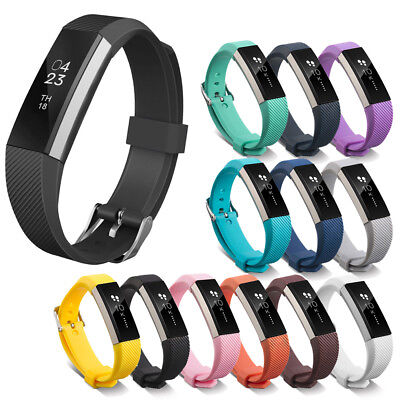 $ CDN3.47 • Buy Silicone Replacement Buckle Sport Watch Wrist Band For Fitbit Alta HR ACE Strap