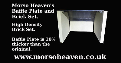£76 • Buy Morso Squirrel 6mm Baffle Plate, High Density Brick Set. £69 From Our Website.