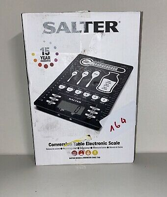Salter's Conversions Digital Kitchen Scales Electronic Food Weighing Scale#164 • 16£