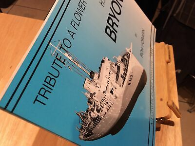 AU90.08 • Buy HMS Bryony - Tribute To A Flower SIGNED Book By Ron Horabin