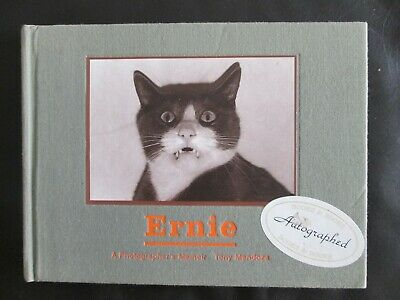 AU39.13 • Buy Ernie: A Photographer's Memoir SIGNED AUTOGRAPHED By Tony Mendoza Rare Cat