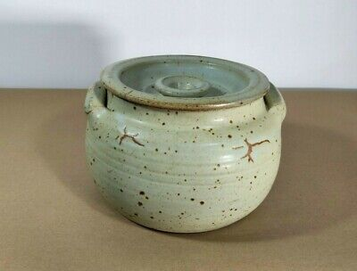 £295 • Buy Winchcombe Studio Pottery Ray Finch Workshop Pot With Lid, Marked, Vintage 22cm