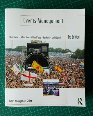 £20 • Buy Events Management 3rd Edition By Bowdin Et Al - Superb Like New
