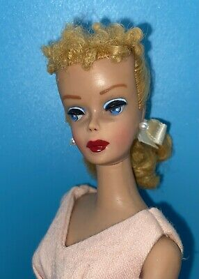 $ CDN501.27 • Buy VTG Blonde Ponytail Barbie Doll #4 4 Gorgeous