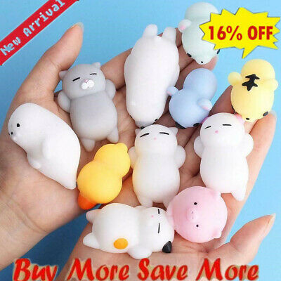 $ CDN1.66 • Buy Squishy Toy Stress Relief Toys Cute Animal Anti Stress Ball Squeeze Kneading Toy