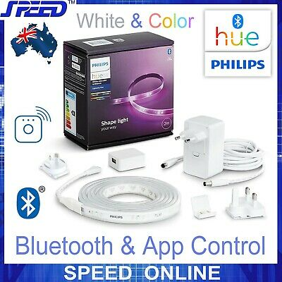 AU149 • Buy PHILIPS Hue White And Color Lightstrip Plus V4 Base Kit - Bluetooth - 2M