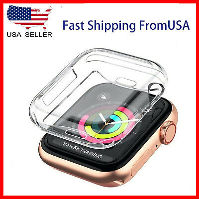 $ CDN4.88 • Buy Soft Screen Protector Cover Case Apple Watch Series SE 6 5 4 3 2 1  38/40/42/44