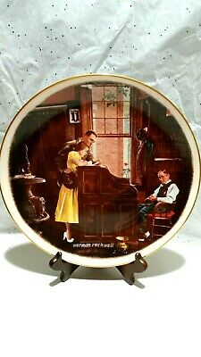 $ CDN16.31 • Buy Vintage Norman Rockwell 1976 Wedding Collector Plate,  The Marriage License