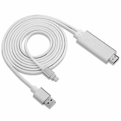 £8.99 • Buy HDMI Adapter Cable For Phone To TV Digital Adapter Cord Compatible With IPhone