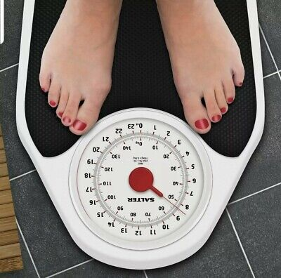 £30.99 • Buy Salter Doctor Style Mechanical Bathroom Weighing Scales With Easy Large Dial 145