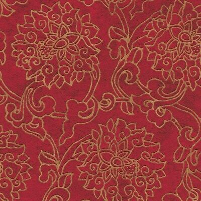 £13.99 • Buy AS Creation Asian Fusion Wallpaper 37470-1 - Vinyl Oriental Japanese Floral Red