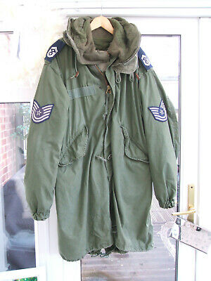 $248.49 • Buy M65 US Army Mod Fishtail Parka + Liner & Hood Medium . Great Vintage  Condition