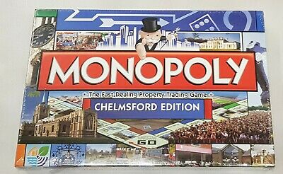 £17 • Buy MONOPOLY CHELMSFORD EDITION Classic Board Game From The Center Of Essex BNIB