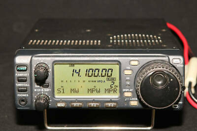 Used Icom All Band All Mode IC-706MKIIGM Transceiver 50W UT-106 Installed Rare • 1,310.27£