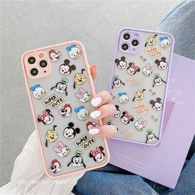 AU11.23 • Buy Girls Cute Cartoon Disney Shockproof Case Cover For IPhone 11 Pro Max XS XR 7 8+