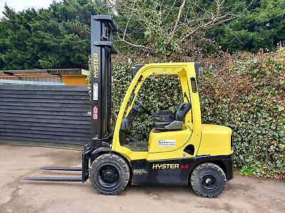 £7750 • Buy Hyster Diesel 3 Ton  Counterbalance Forklift Truck/ Like Toyota Nissan Caterpill