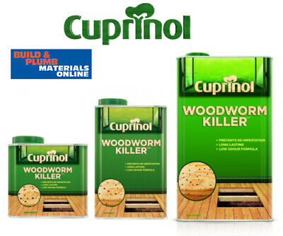 £19.45 • Buy Cuprinol Woodworm Killer Low Odour Wood Treatment All Sizes - Water Based