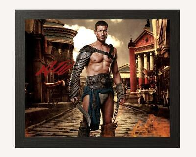 Andy Whitfield Spartacus Signed & Framed Autograph 10''x8'' Reproduction Pp • 14.99£