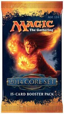 $6.49 • Buy Magic 2014 / M14 Booster Pack (ENGLISH) FACTORY SEALED BRAND NEW MAGIC ABUGames