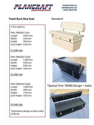 £1554 • Buy RIB Seating And Consoles - Made To Order Bespoke Upholstery.