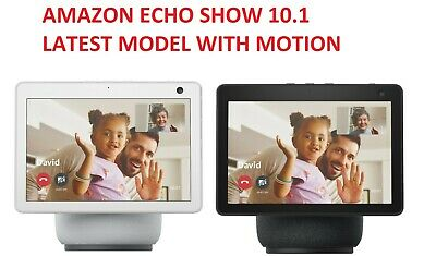 AU314.79 • Buy Amazon Echo Show 10 (3rd Gen) With Motion And Alexa White Black BRAND NEW SEALED