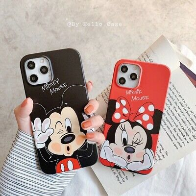 AU9.89 • Buy Cute Cartoon Minnie Mickey Mouse Soft Case Cover For IPhone 12 Pro Max 11 XS XR
