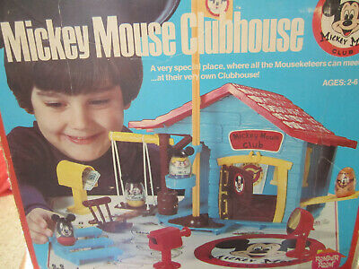 $9.95 • Buy YOU CHOOSE 1976 Disney Hasbro Playskool Weeble Mickey Mouse Clubhouse Parts