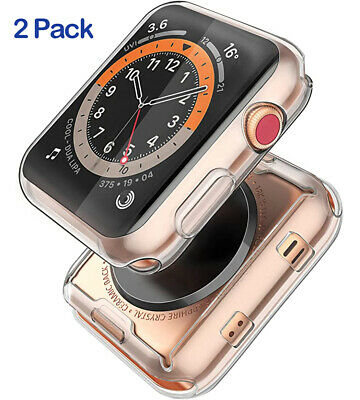 AU10.80 • Buy 2 Pack Apple Watch TPU Bumper Protector Cover Case IWatch SE 6 5 4 40 44 38 42mm