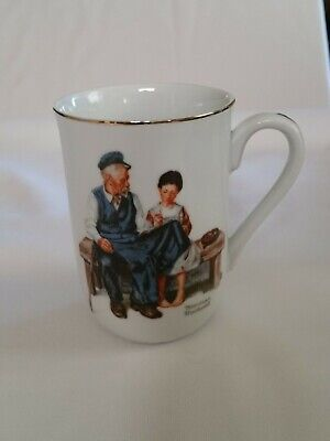 $ CDN12.53 • Buy Vintage 1982 Norman Rockwell Museum 'The Lighthouse Keeper's Daughter' Cup Mug