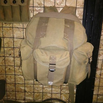 $35.99 • Buy Wwii Ww2 Us Army Musette M14 Military Haversack Linen Military Backpack Pouch