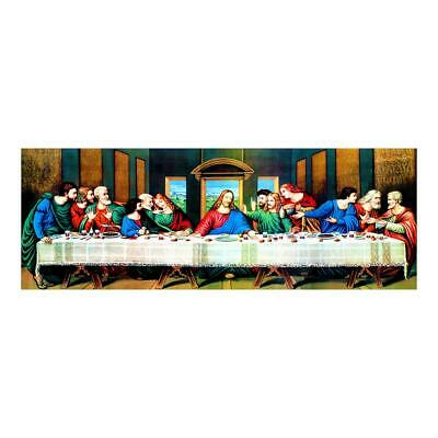 £8.99 • Buy 5D DIY Full Drill Diamond Painting The Last Supper Cross Stitch Embroidery UK