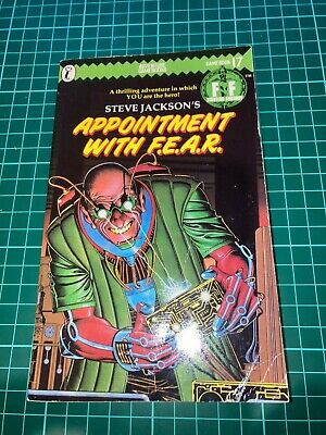 AU18 • Buy Fighting Fantasy #17 Appointment With F.E.A.R. - Paperback
