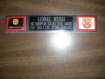 AU10.24 • Buy Lionel Messi (soccer) Nameplate For Signed Ball Case/jersey Case/photo