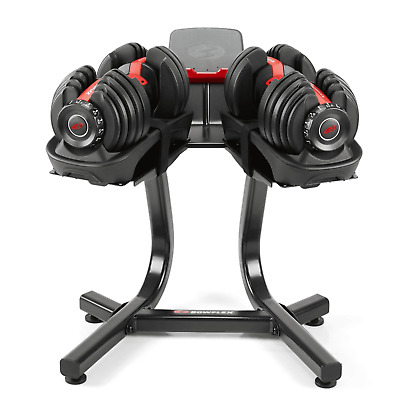 $ CDN1002.50 • Buy Bowflex SelectTech 552 Dumbbells SET, Bowflex Stand & Media Rack, FAST SHIPPING
