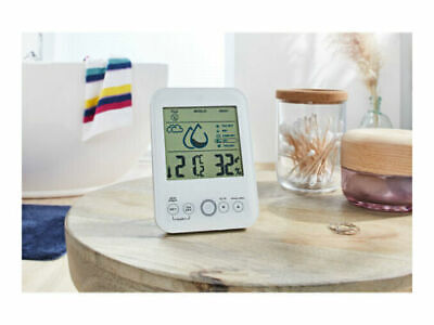 £13.99 • Buy AURIOL Room Climate Monitor Humidity Alarm, Mould And Flu Indicator, Heat Index