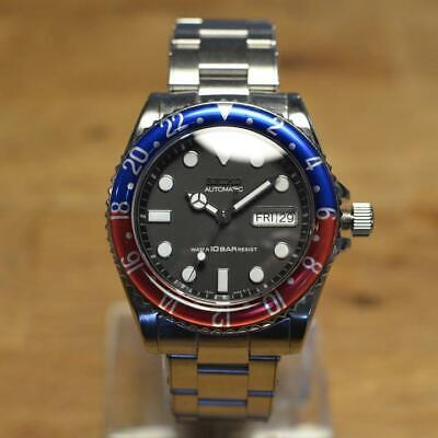 $ CDN840.39 • Buy Seiko Modified Day Date SKX031 NH36 Automatic Mens Watch Authentic Working