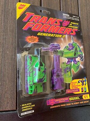 £46.14 • Buy Transformers G2 Brawl Action Figures 100%Complete With Card/bubble