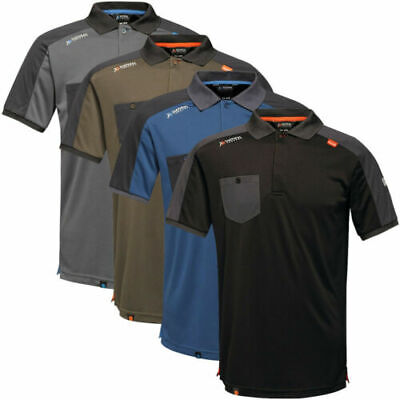 £14.45 • Buy Regatta Tactical Threads Offensive Wicking Work Polo Shirt Trade Polo Workwear