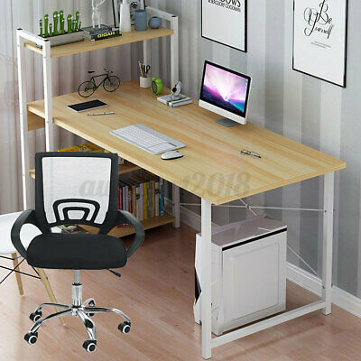 AU69.99 • Buy 4 Tier Storage Rack Computer Desk Table Chair Home Office Study Workstation