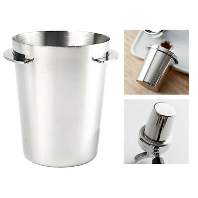 $12.12 • Buy Coffee Dosing Cup Sniffing Mug Part Fit For 51mm Espresso Machine Silver