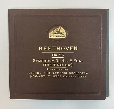 £15 • Buy Gramophone Records X 6. Beethoven Symphony No3 In E Flat. The Eroica.
