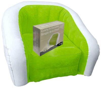 £18.99 • Buy Inflatable Chair Outdoor Camping Gaming Lounger Sofa Blow Up Waterproof Portable