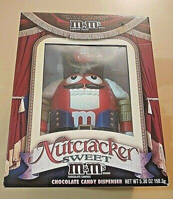 $21 • Buy M&M's Nutcracker Sweet Red & Fun Machine Blue/Red Collectibles New In Box