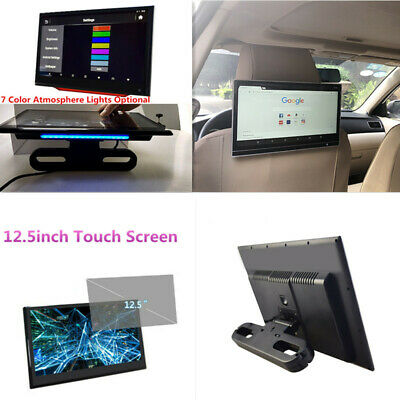 £206.68 • Buy 12.5 In Android Car Headrest Monitor HD Video Touch Screen WIFI Bluetooth Player