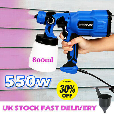 £39.13 • Buy Paint Sprayer Gun Airless Wagner Electric 550W Home Outdoor Wall Handheld Spray