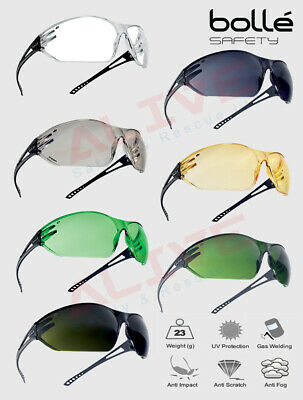 £7.89 • Buy Bolle SLAM Safety Glasses Spectacles Anti-fog Anti-scratch Lens All-round Vision