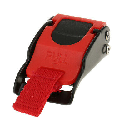 £2.99 • Buy Replacement Quick Release Clip Chin Strap Pull Buckle For Motorcycle Helmet