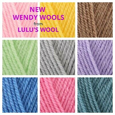 NEW Wendy Supreme DK Wool/yarn 100g FREE POSTAGE • 2.68£